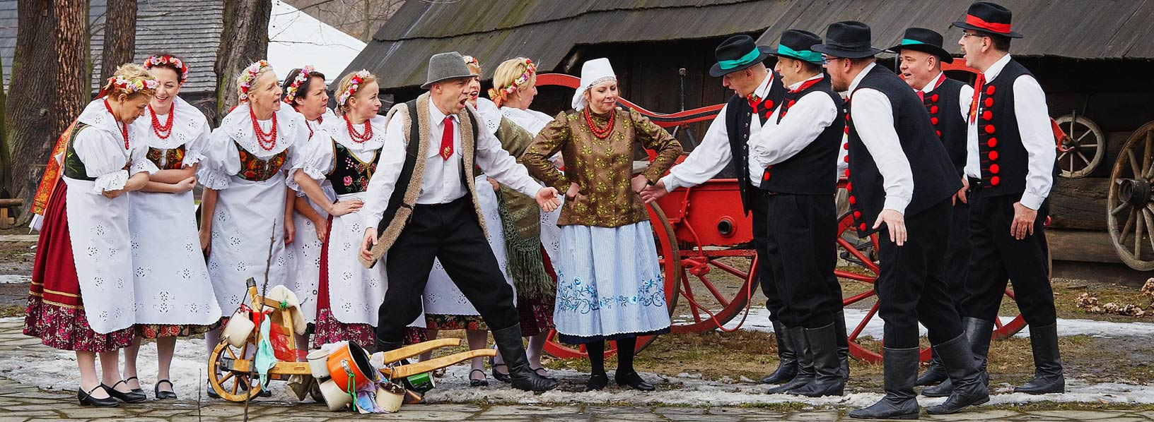"""Zespół Regionalny """"Pszczyna"""" to laureat wielu nagród na przeglądach regionalnych zespołów ludowych"""